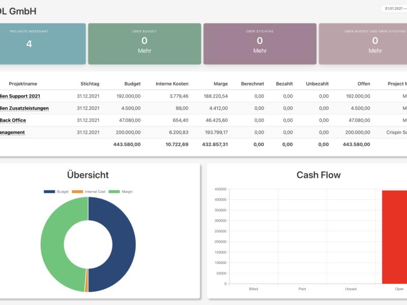 Organisation Cashflow